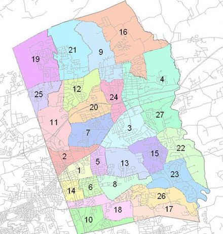 Voting Precinct Map