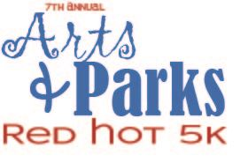 Arts and Park Red Hot 5k Logo -2020