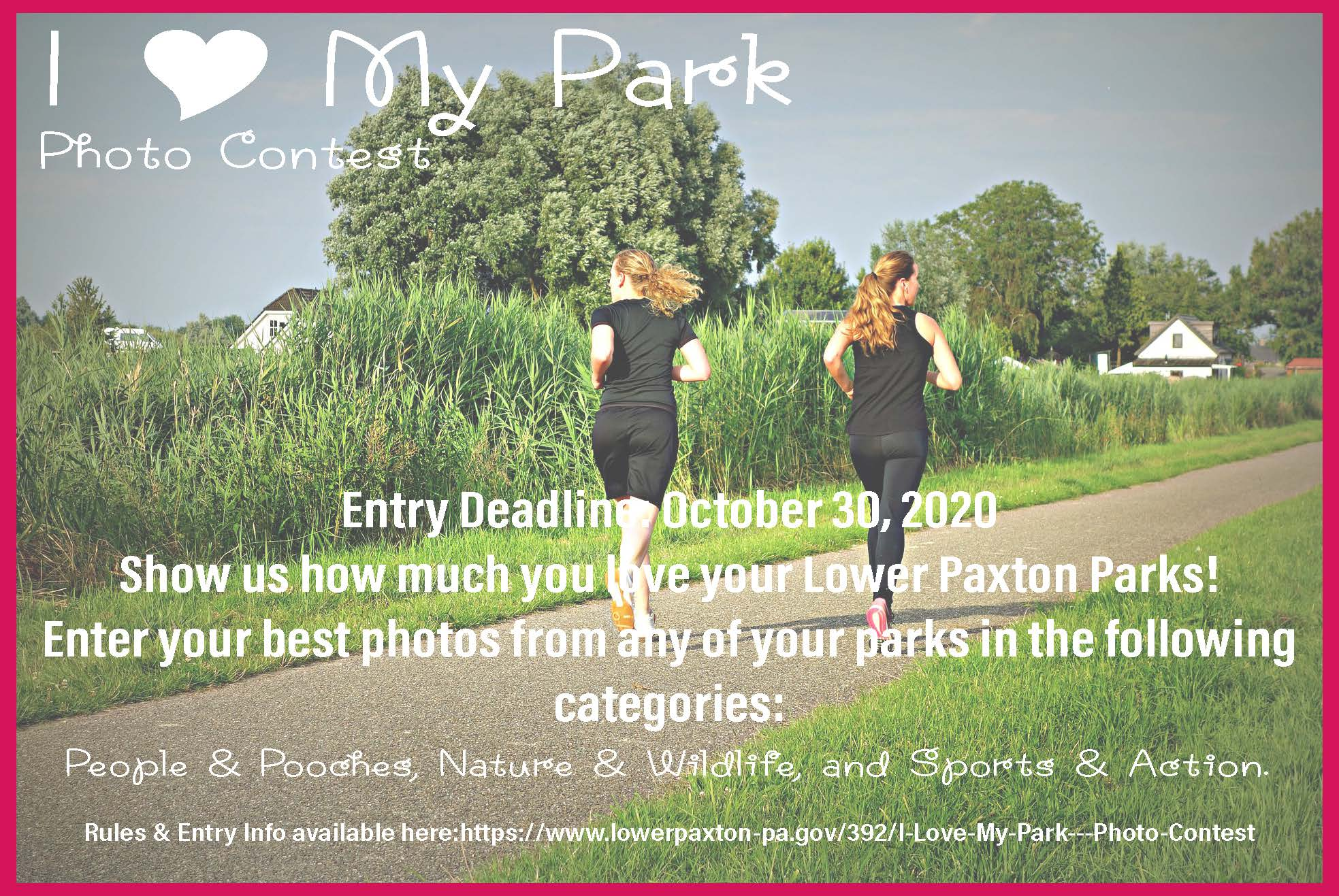 I love my park photo contest
