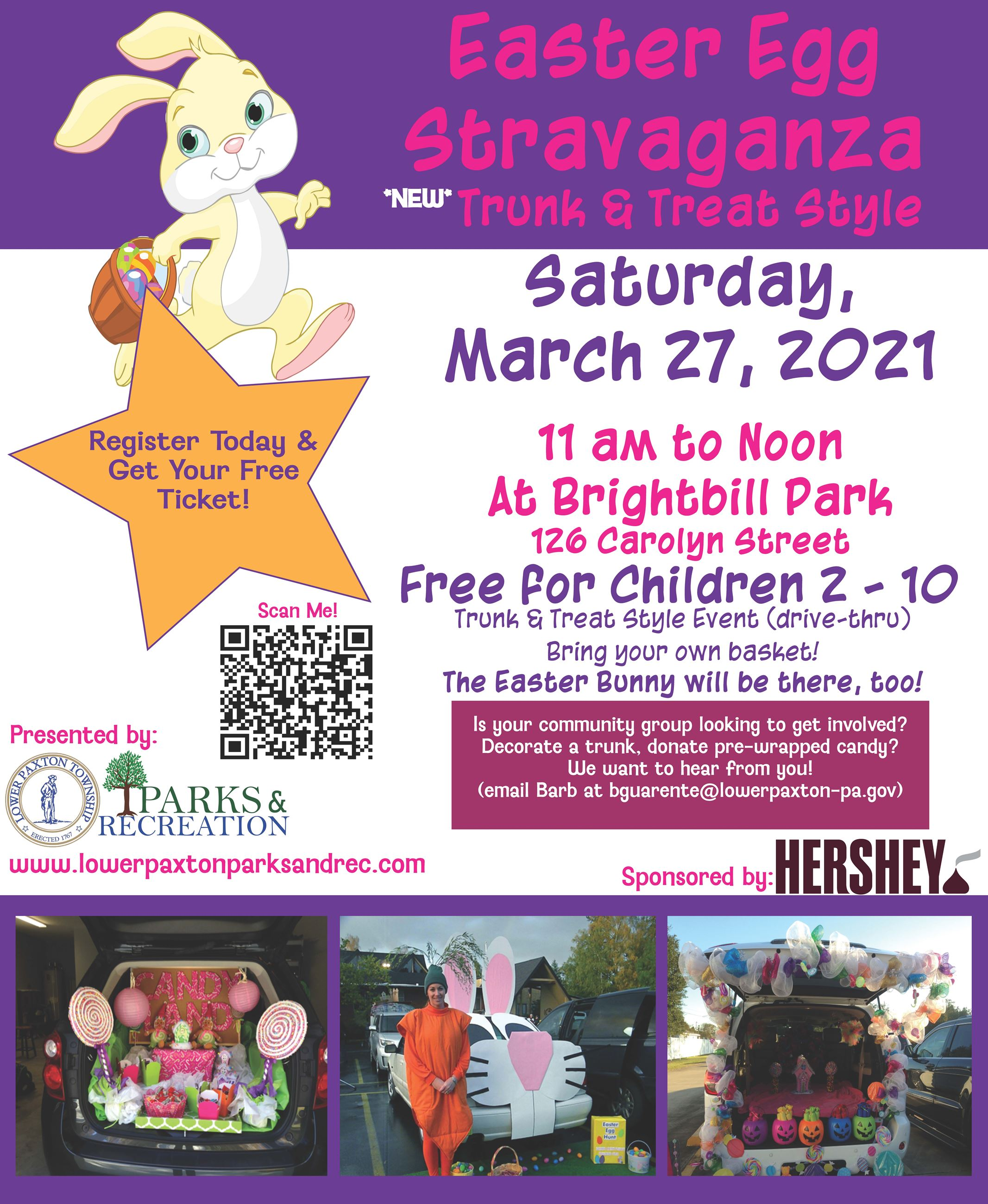 Easter Egg Stravaganza Flyer 2021